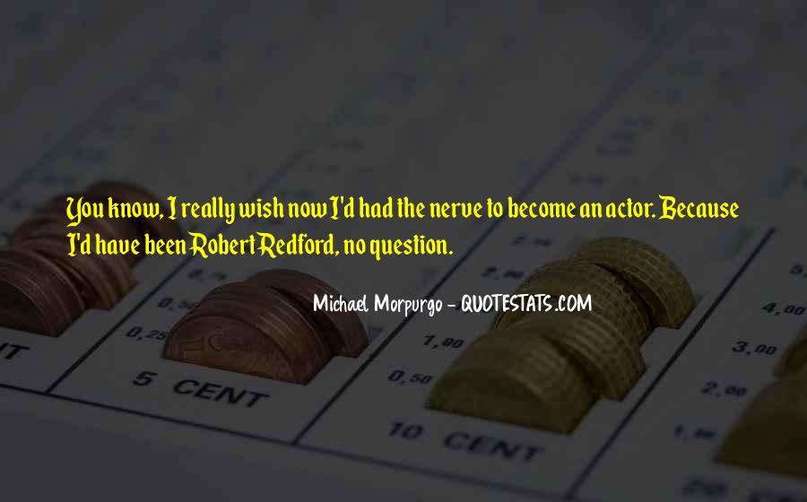 Michael Morpurgo Quotes #1723895