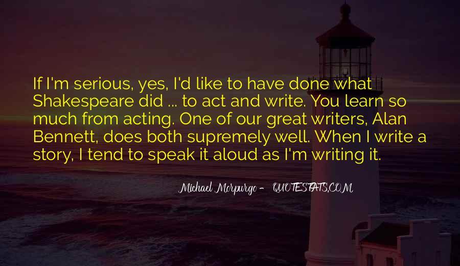 Michael Morpurgo Quotes #1769141