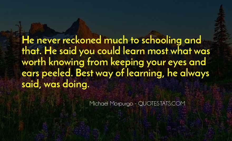 Michael Morpurgo Quotes #1774673