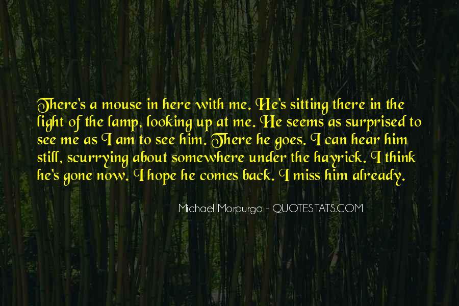 Michael Morpurgo Quotes #209095