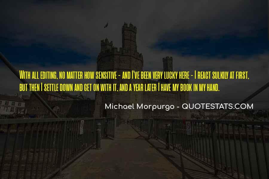 Michael Morpurgo Quotes #319301