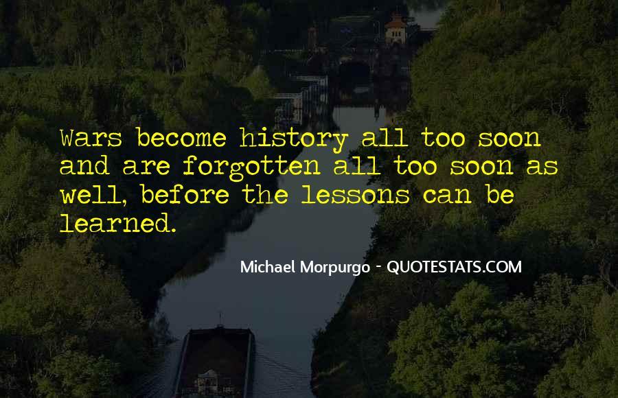 Michael Morpurgo Quotes #418919