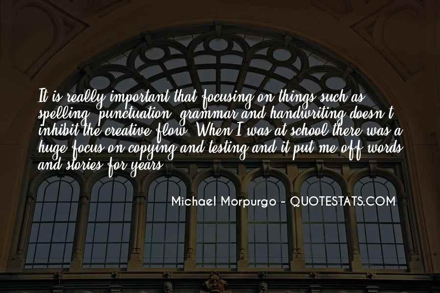 Michael Morpurgo Quotes #508934