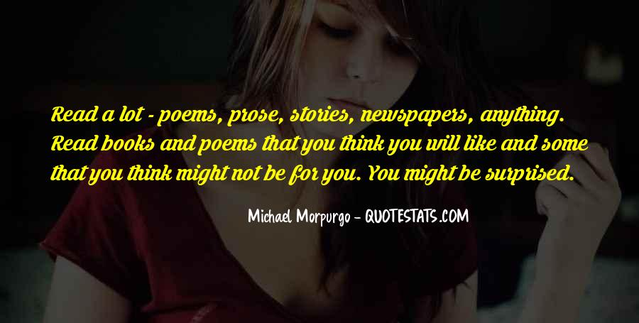 Michael Morpurgo Quotes #570927