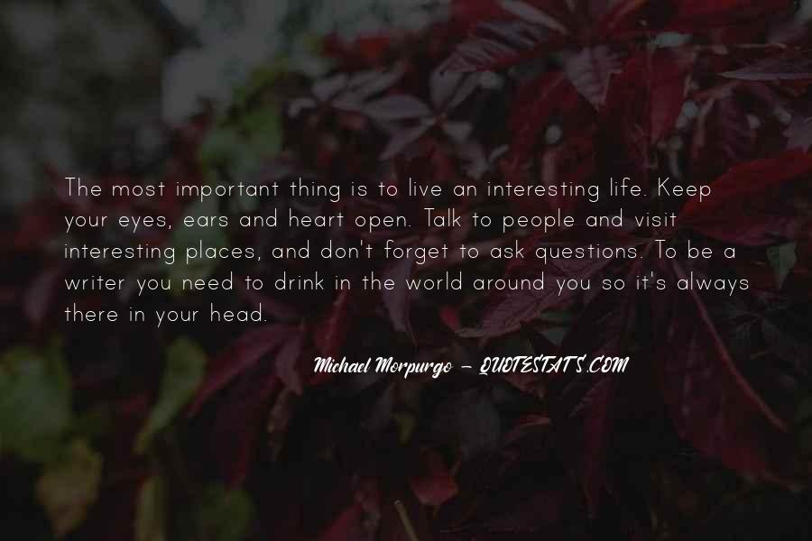 Michael Morpurgo Quotes #58548