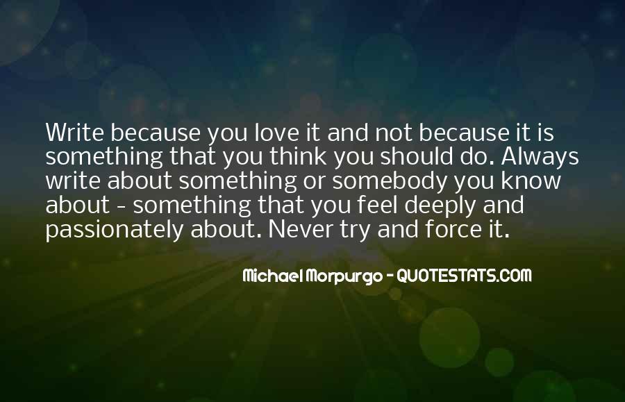 Michael Morpurgo Quotes #634704