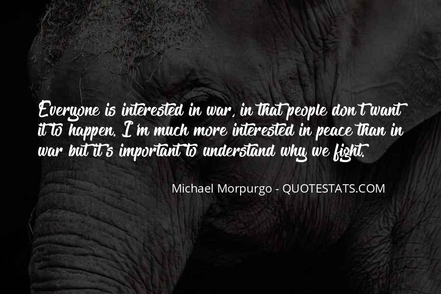 Michael Morpurgo Quotes #723862