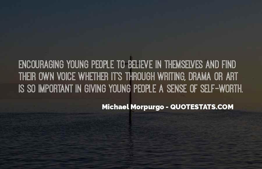 Michael Morpurgo Quotes #748504