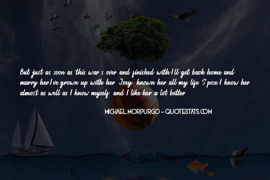 Michael Morpurgo Quotes #911924