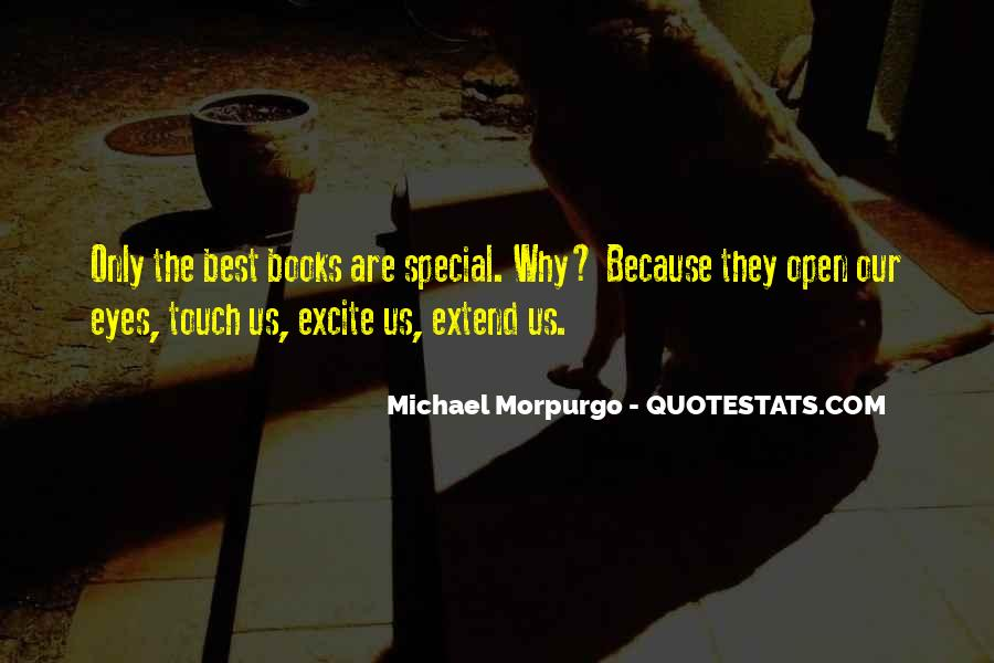 Michael Morpurgo Quotes #918477