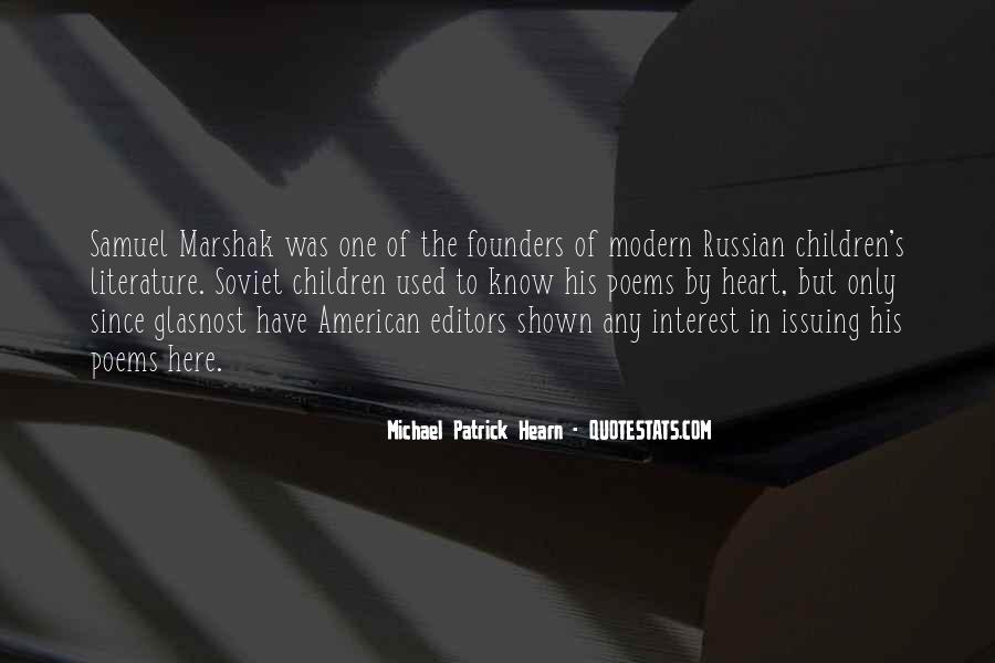 Michael Patrick Hearn Quotes #1255646
