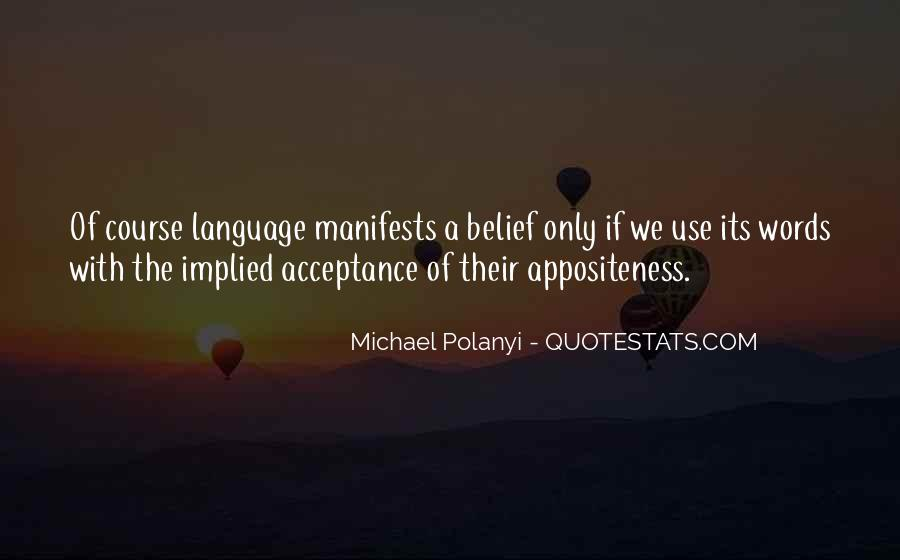 Michael Polanyi Quotes #102594