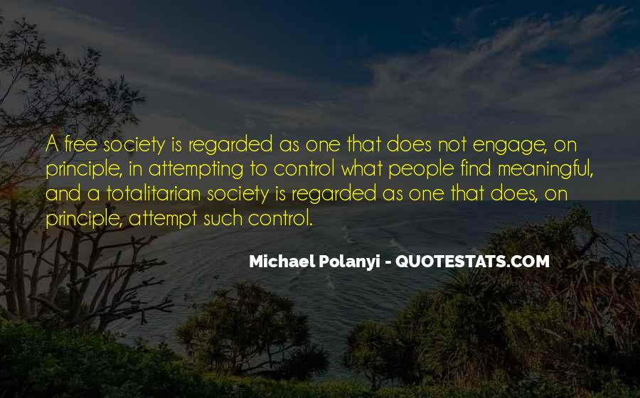 Michael Polanyi Quotes #1198249