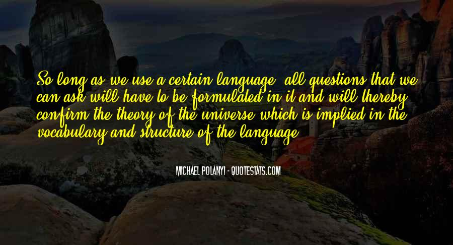 Michael Polanyi Quotes #1269513