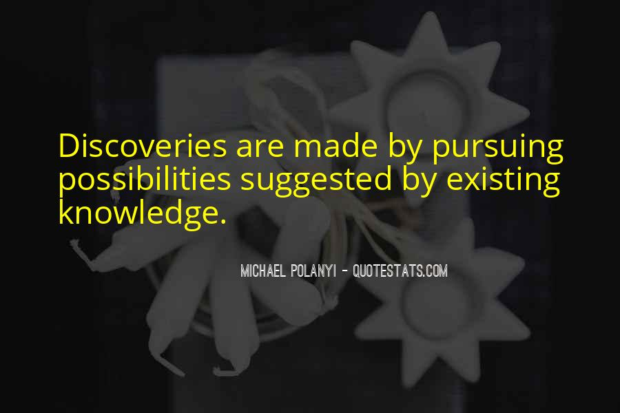 Michael Polanyi Quotes #1413651