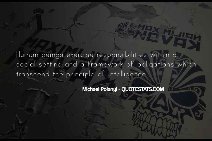 Michael Polanyi Quotes #374238