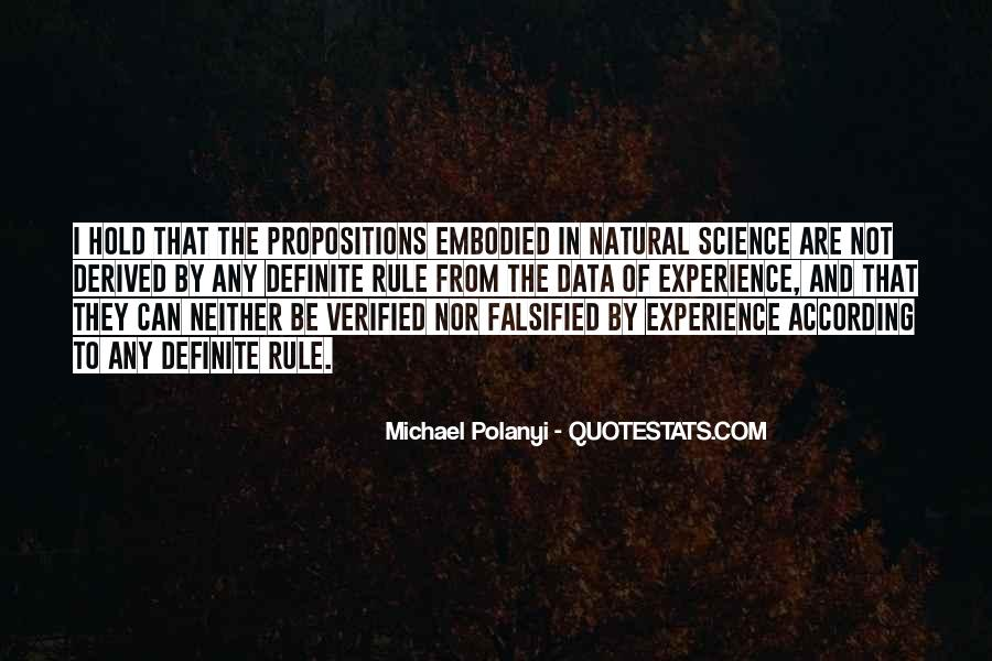 Michael Polanyi Quotes #386208