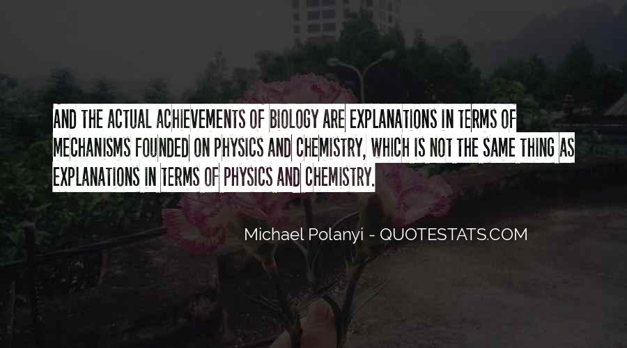Michael Polanyi Quotes #456514