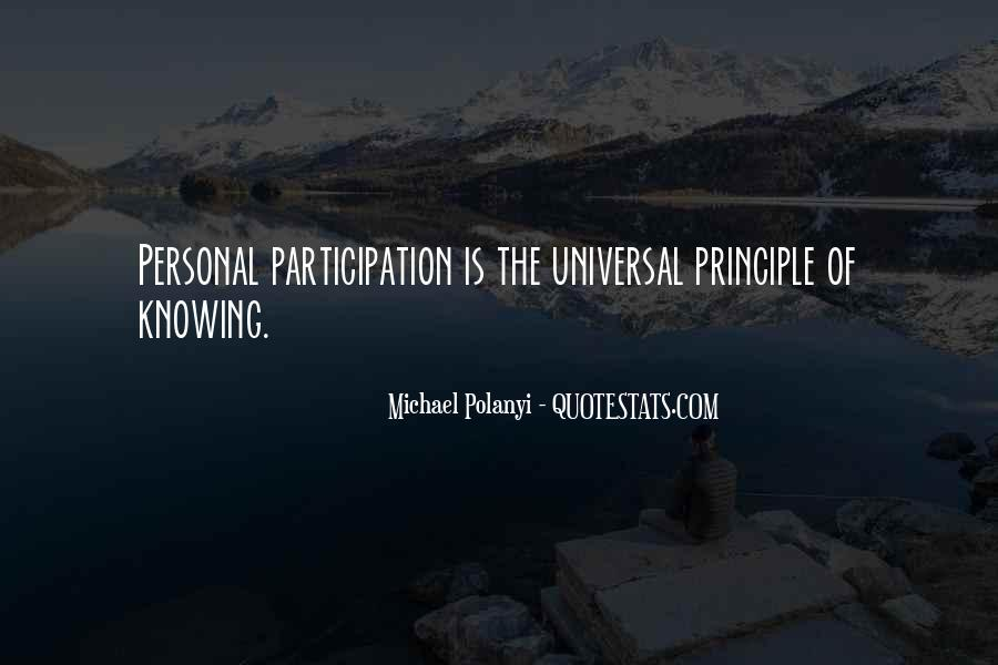 Michael Polanyi Quotes #478892