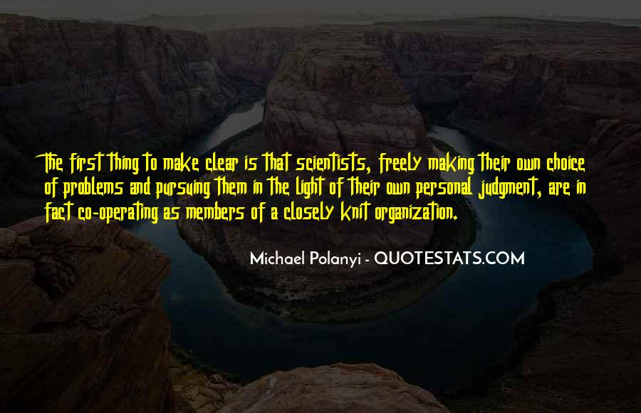 Michael Polanyi Quotes #62411