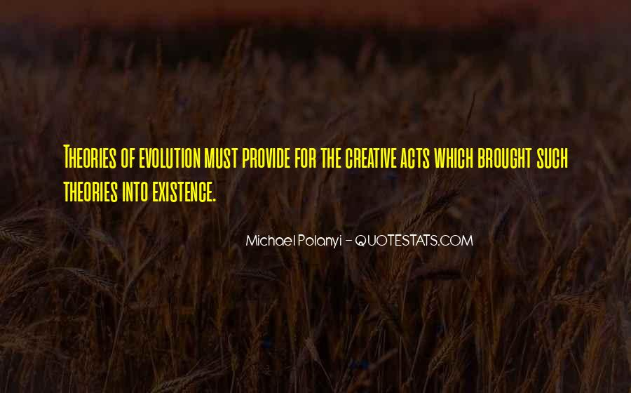 Michael Polanyi Quotes #725123