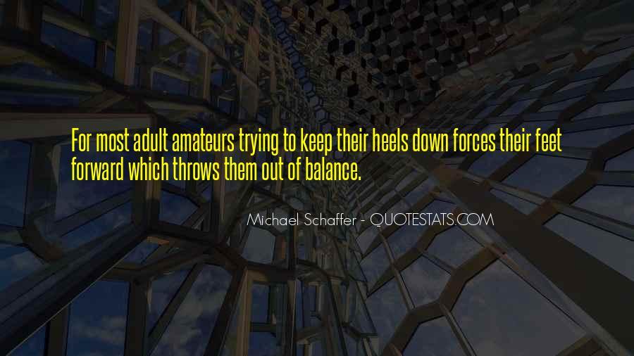 Michael Schaffer Quotes #132977