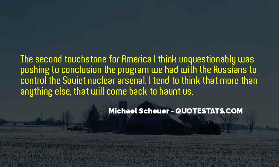Michael Scheuer Quotes #825628