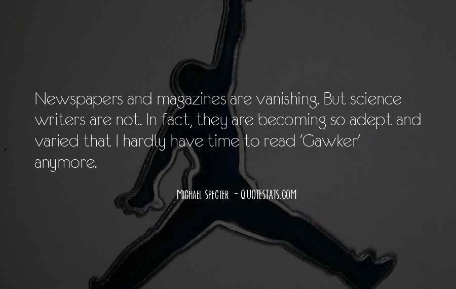 Michael Specter Quotes #1400302