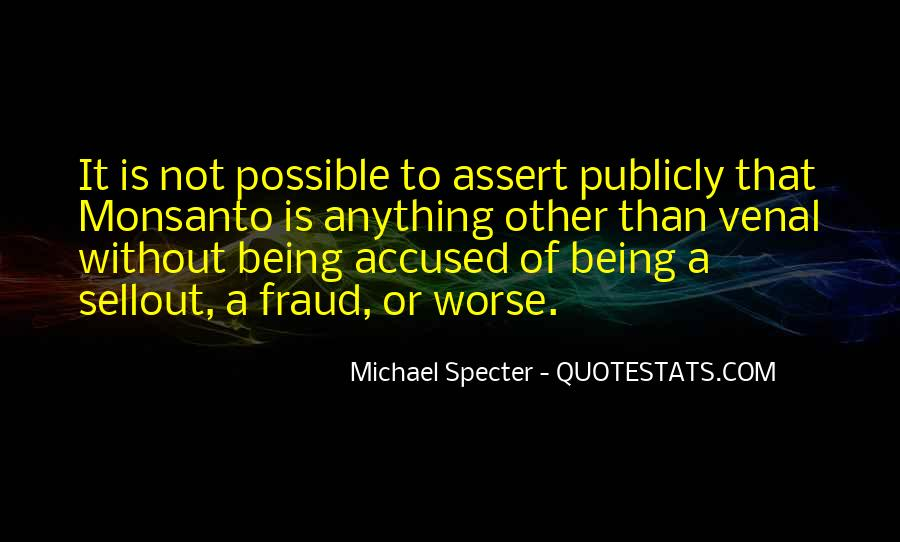 Michael Specter Quotes #1452873