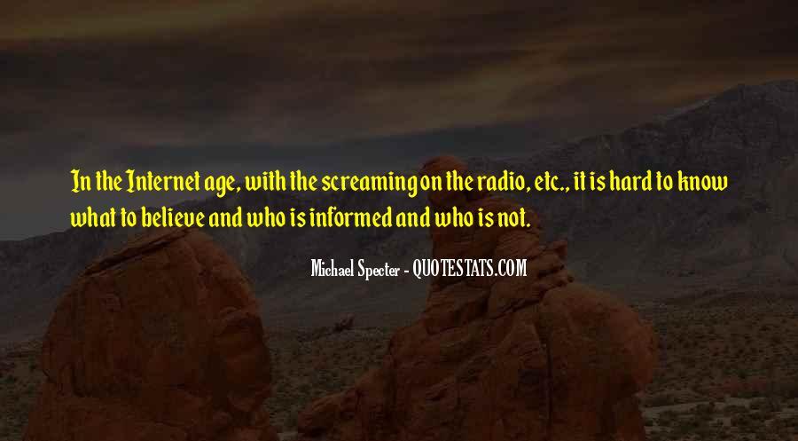 Michael Specter Quotes #1538645