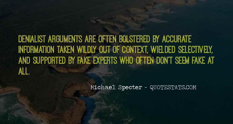 Michael Specter Quotes #292299