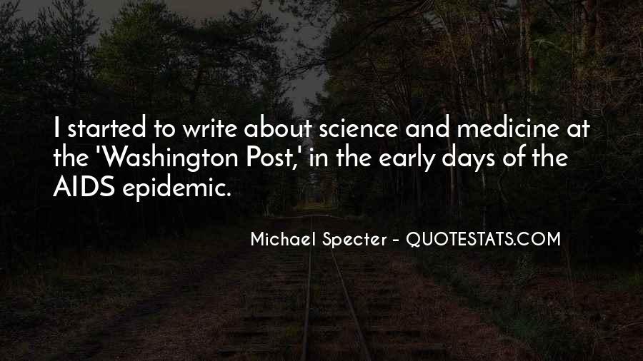 Michael Specter Quotes #785356