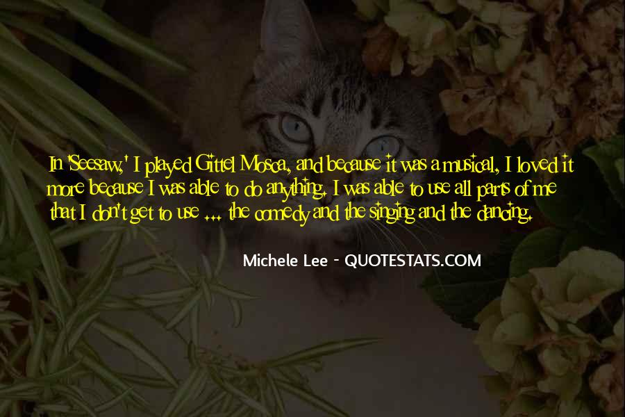 Michele Lee Quotes #799831