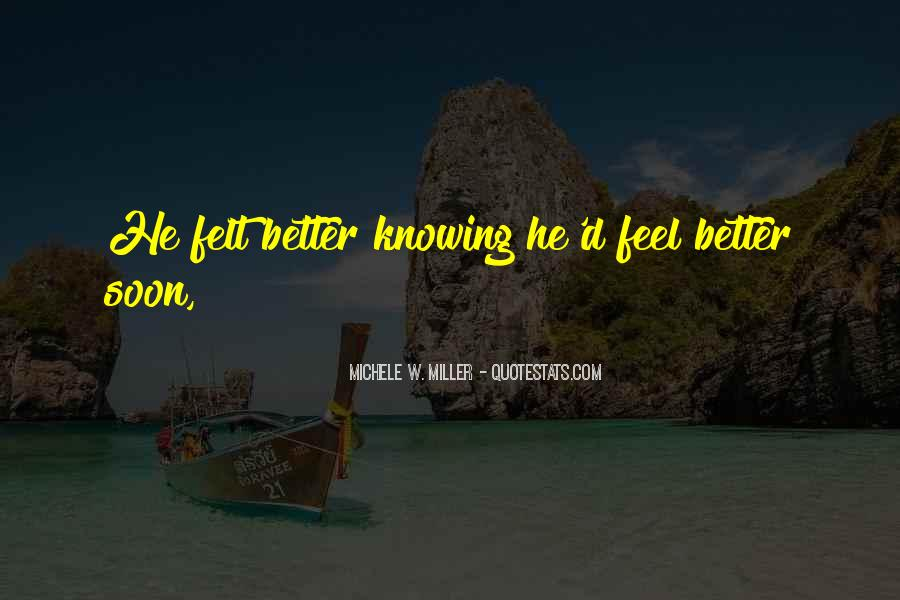 Michele W. Miller Quotes #1859631