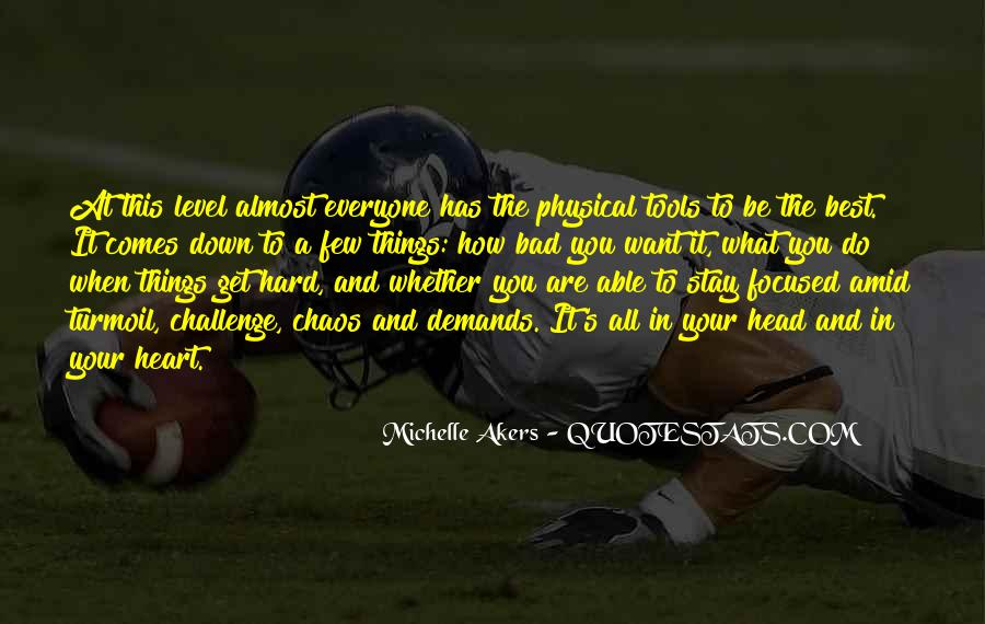 Michelle Akers Quotes #179715