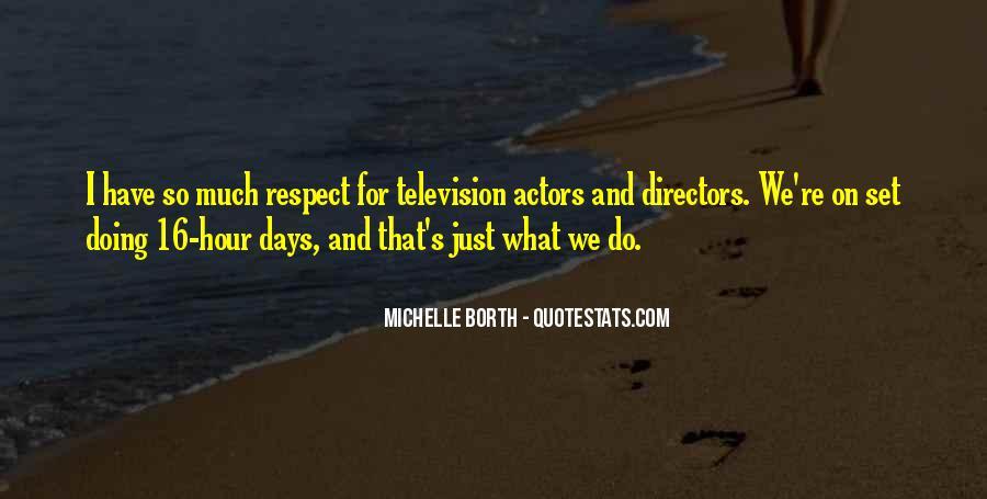 Michelle Borth Quotes #717642