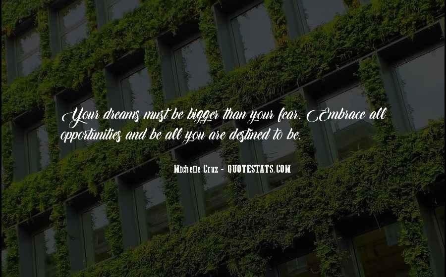 Michelle Cruz Quotes #354209
