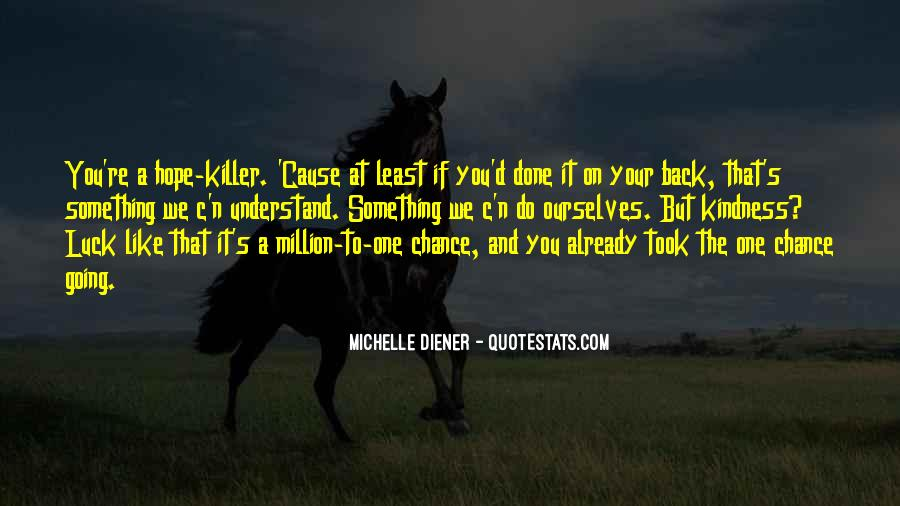 Michelle Diener Quotes #1072411