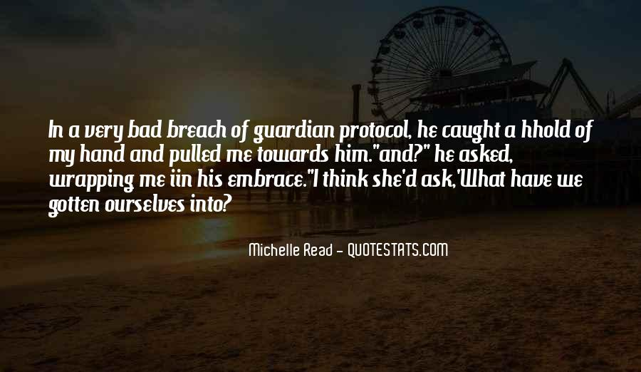 Michelle Read Quotes #327653
