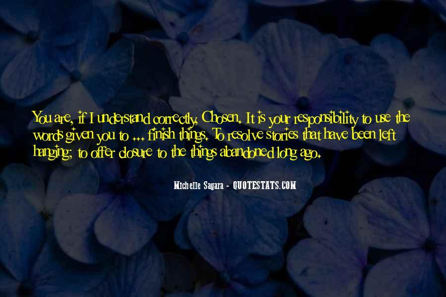 Michelle Sagara Quotes #1286976