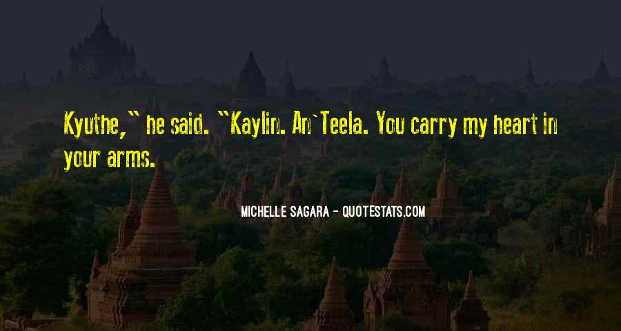 Michelle Sagara Quotes #1382256