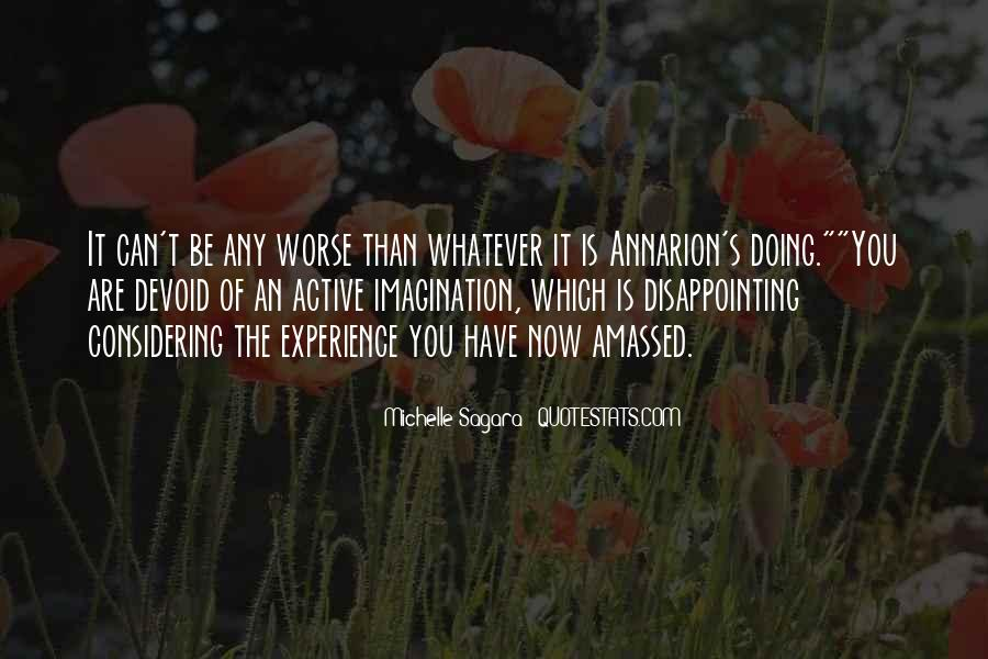 Michelle Sagara Quotes #1392835