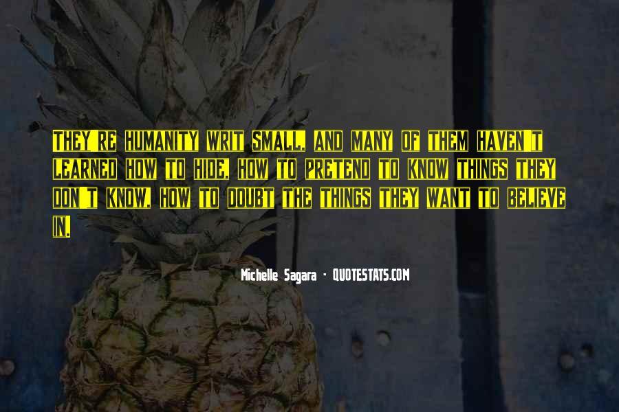 Michelle Sagara Quotes #1715772