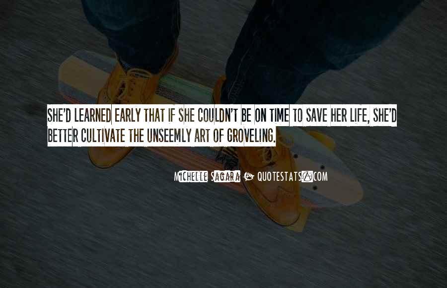 Michelle Sagara Quotes #1802715