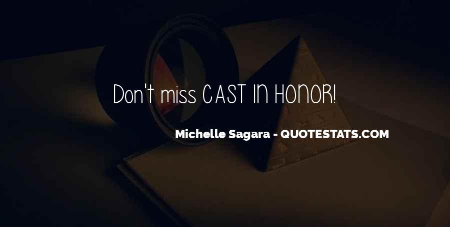 Michelle Sagara Quotes #208251