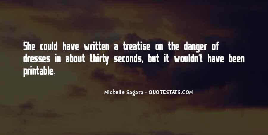 Michelle Sagara Quotes #397343