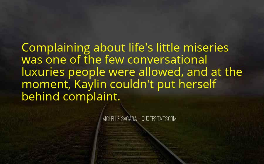 Michelle Sagara Quotes #525632