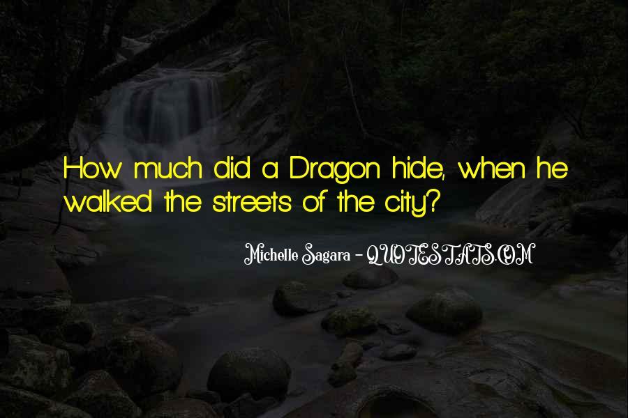 Michelle Sagara Quotes #631942