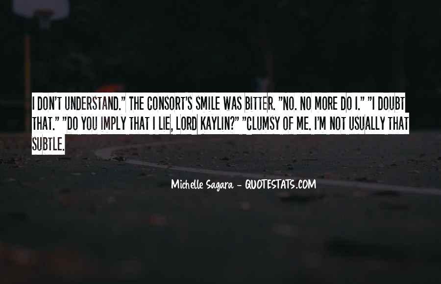 Michelle Sagara Quotes #693569
