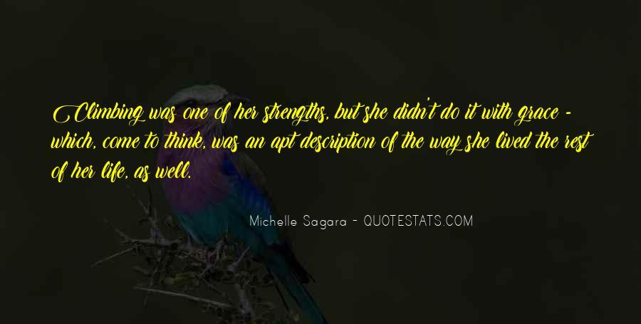Michelle Sagara Quotes #850532